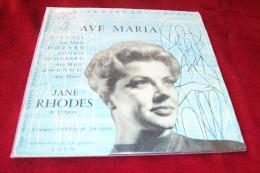 JANE RHODES  °  AVE MARIA   REF VEGA C 37 185 - Religion & Gospel