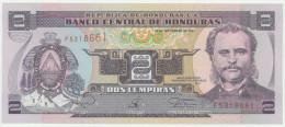 Honduras 2 Lempiras 18.9.1997 Pick 80 UNC - Honduras