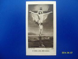 SANTINO / SANTINI -  HOLY CARD -  IMAGE PIEUSE  (O CRUX, AVE, SPES UNICA) Anno 1938 - Images Religieuses