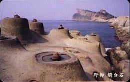 Taiwan Telephone IC Card IC08C020 Coast Rock Park Sea Cape Scenery - Taiwan (Formosa)