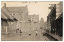 Ercheu / Les Ecoles / 1908 - Other Municipalities