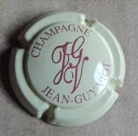 Capsule De Champagne - Viot Jean Guy   - N°1 - Créme Et Bordeaux - Champagne