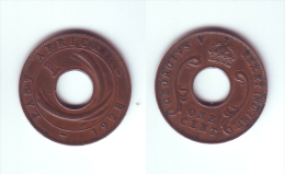 East Africa 1 Cent 1928 KN - British Colony