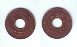 East Africa 1 Cent 1928 KN - Colonie Britannique
