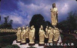 Taiwan Telephone IC Card IC08C009 Buddha Pottery Culture - Taiwan (Formosa)