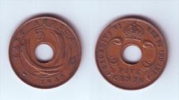 East Africa 5 Cents 1943 SA - Colonie Britannique