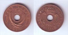East Africa 10 Cents 1952 H - Colonie Britannique