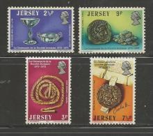 JERSEY, 1973, Mint Never Hinged Stamps, Society Jersey Nrs.77-80, #4214 - Jersey