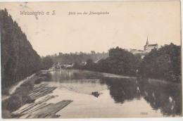 AK WEISSENFELS Blick Von Der Pfennigbrücke 1907 - Weissenfels