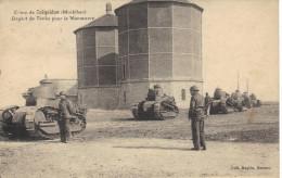56 Camp De COEQUIDAN - Départ De Tanks Pour La Manoeuvre - Manovre