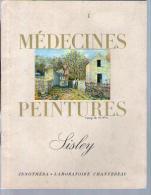 Revue Médecines & Peintures - Peintre Sysley - Vie Histoire Repro De Tableaux - Laboratoire Chantereau Arcueil - Art