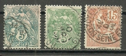 France ; 1900 Issue Stamps - 1898-1900 Sage (Tipo III)