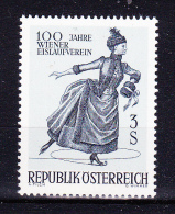 Austria  1967 .  Skating   -  Y&T  #  1066 Cv  0.80  E , **  M N H , V V F - 1945-.... 2nd Republic