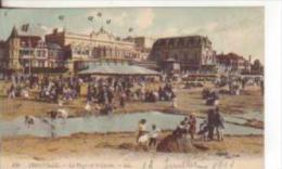 11te-Trouville-Calvados-France-Beach-Spiaggia-Jeux Pour Enfants-Giuochi Per Bambini-.1911 X Engleterre - Trouville