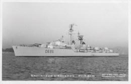 Escorteur D'escadre FORBIN (Marine Nationale) - Carte Photo éd. Marius Bar - Photo/bateau/schiff - Warships
