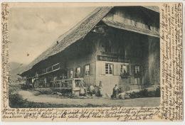 Gasthaus Zum Himmelreich . P. UsedHinterzarten 1904 To Schwarzack Cercy La Tour Nievre Institutrice - Hinterzarten