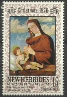 New Hebrides - 1970 Christmas 15c MH *   Sc 142 - English Legend