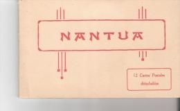 BEAU CARNET DE 12 CPA DETACHABLES  DE NANTUA     LALOGE PHOTO  VOIR 3 SCANS - Nantua