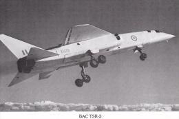BAC TSR 2 Flown At A&AEE Boscombe Down 1964 Aircraft Postcard (AM2087) Undivided Back - 1946-....: Modern Era