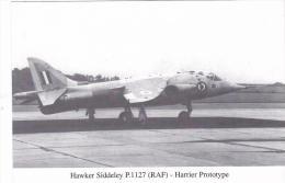 Hawker Siddeley P 1127 First Flight 31st August 1966 Aircraft Postcard (AM2103) - 1946-....: Ere Moderne