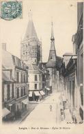 61 LAIGLE - Rue De Bécanne - église Saint Martin - L'Aigle