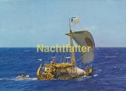 "AK - Schiffe - Papyrusboot ""Ra II"" - Thor Heyerdahl - Other"