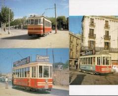 ESPAGNE : TRAMWAY De MATARO à ARGENTONA  Années 1960-65 - LOT De 3 CPM Détails Sur Le 2ème Scan - Tram