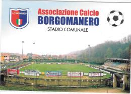 STADIO-STADIO COMUNALE DI BORGOMANERO NOVARA - Calcio