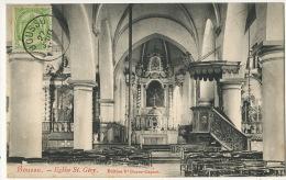 Boussu Eglise St Gery Edit Vve Durez Capart Voyagé Boussu - Boussu