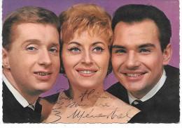 LES 3 MENESTRELS - Autographe - Chanteurs & Musiciens