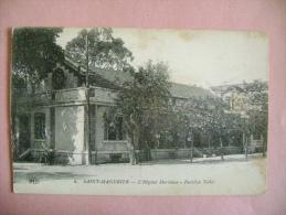 CP SAINT MANDRIER N°4 L HOPITAL MARITIME PAVILLON TOLLET   - ECRITE EN 1919 - Saint-Mandrier-sur-Mer