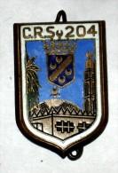 Insigne C.R.S. 204 Alger (Guerre D'Algérie) - Police