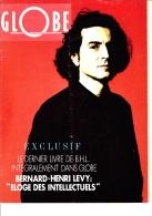 Globe—Eloge Des Intellectuels—Bernard-Henri Levy—Pas De Date - Psicologia/Filosofia