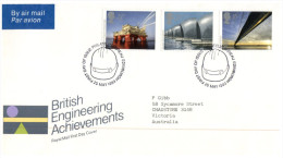 (PH 261) England FDC Cover - 1983 - Engineering - FDC