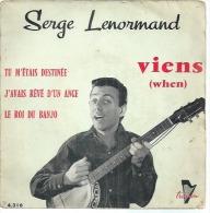 "45 Tours EP - SERGE LENORMAND - TRIANON 4316 -   "" VIENS "" + 3 - Vinyles"