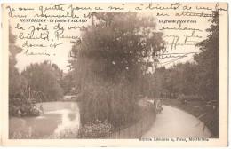 Dépt 42 - MONTBRISON - Le Jardin D'ALLARD - La Grande Pièce D'eau - Montbrison