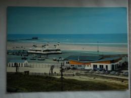 """Carte Postale Couleurs (écrite 1969) Hoverport Du PORTEL - HOVERCRAFT SR.N4 """"Princess Margaret"""" - Ferries"""