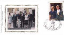 Engagement  King Philippe And Queen Mathilde Belgium  (  Rood 477 - FDC