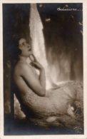 Cartolina Antica Bromografia SEDUZIONE... Anni '40 - PERFETTA G63 - Siluette
