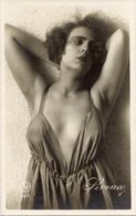 Cartolina Antica Bromografia SIRENA... Anni '40 - PERFETTA G63 - Siluette