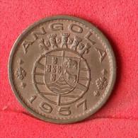 ANGOLA  50  CENTAVOS  1957   KM# 75  -    (Nº06263) - Angola
