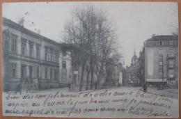 CPA Noir Et Blanc Thionville Bureau De Piste Et Rue De Paris N°7 - Thionville
