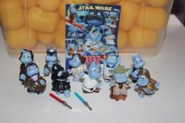 Kinder Surprise = Série Complète = Star Wars + 1 Bpz Allemagne - Monoblocchi
