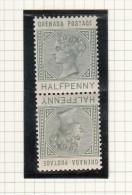 Queen Victoria - 1883 - Grenada (...-1974)