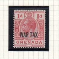 King George V - WAR TAX - 1916/1918 - Grenada (...-1974)