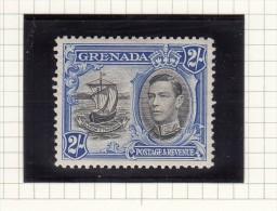 King George VI - 1938 - Grenada (...-1974)