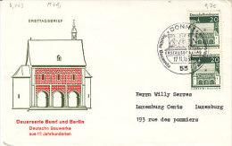 D-Bonn 1967. Dauermarke Lorsch/Hessen (5.463) - [7] République Fédérale