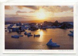 ICELAND - AK196458 Sonnenuntergang An Der Gletscherlagune Jökulsárlón - Islande