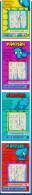 TRES RARE 5 MORPION EN SUIVANT ATTACHES PBL TICKET GRATTAGE FDJ FRANCAISE DES JEUX 219030509036-178 à182 EMISSION N° 20 - Lottery Tickets