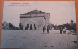 CPA Noir Et Blanc Thionville Diedenhofen  Porte De Sarrelouis - Thionville